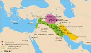 اکد باستان