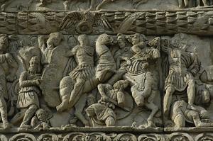 شکست سپاه نرسی از روم.