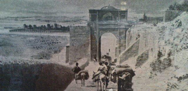 دروازه قرآن شیراز در قدیم