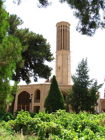 باغ دولت آباد یزد