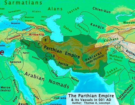 امپراطوری اشکانیان