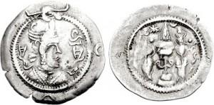 سکه های ساسانی-قباد یکم