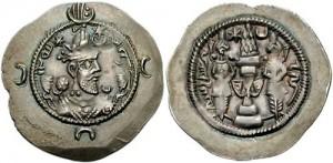 سکه های ساسانی-خسرو انوشیروان