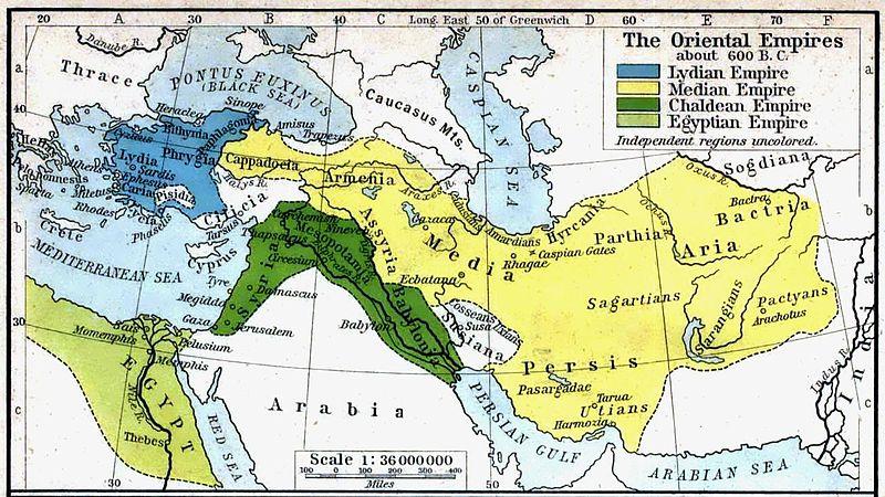 قلمرو امپراطوری ماد