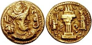 سکه های ساسانی-شاپور دوم