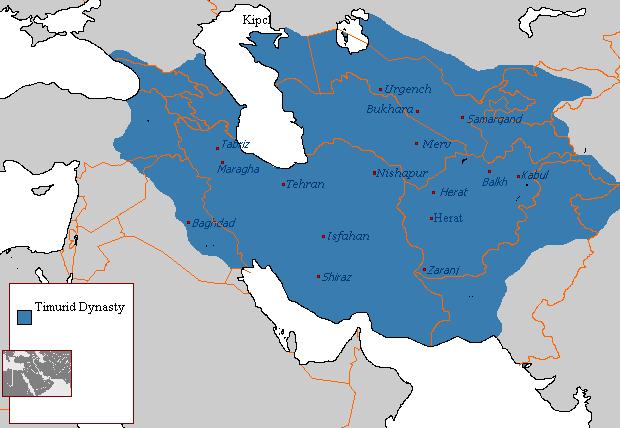 قلمرو تیموریان