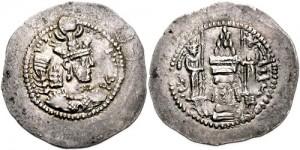 سکه های ساسانی-یزدگرد دوم