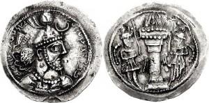 سکه های ساسانی-یزدگرد یکم