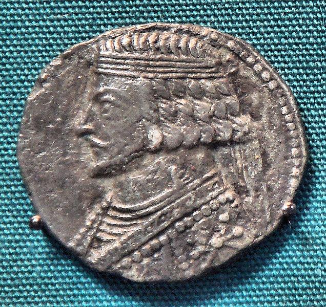 سکه های اشکانیان-سکه فرهاد چهارم