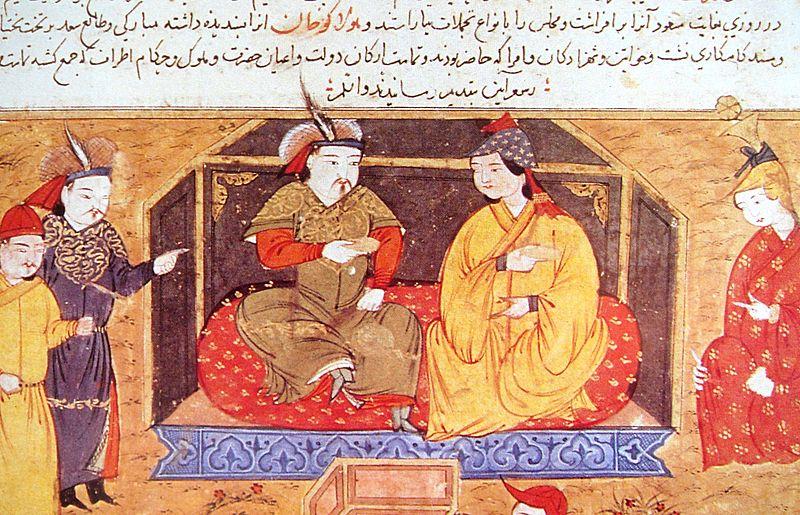 هلاکو و همسرش دوقوز خاتون
