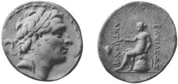 سکه های سلوکی-سکه نقره آنتیوخوس سوم
