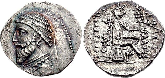 سکه های اشکانی-سکه اردوان یکم