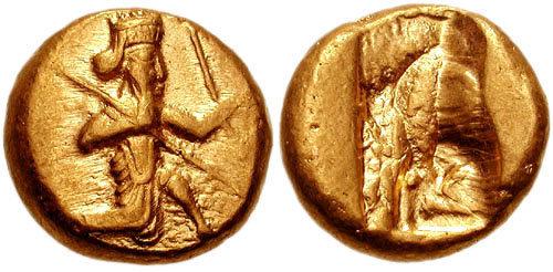 سکه های هخامنشیان-دریک