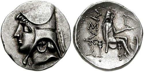 سکه های اشکانیان-سکه اردوان یکم (اشک دوم)