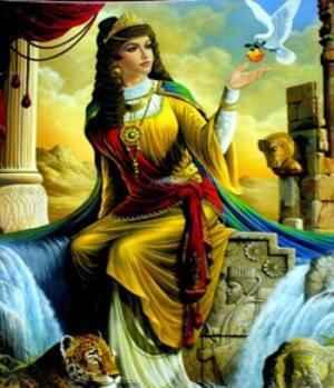 جایگاه زن در ایران باستان