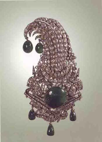 جواهرات سلطنتی ایران-جقه نادری