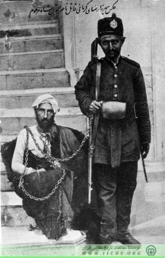 پدر رضا شاه پهلوی