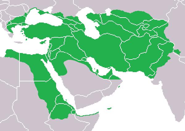 گسترده امپراتوری هخامنشیان