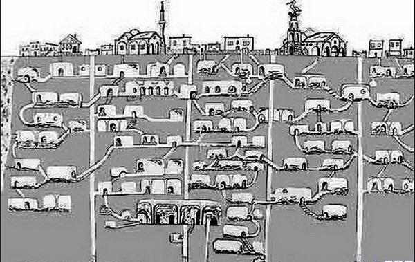 شهر زیر زمینی درینکویو
